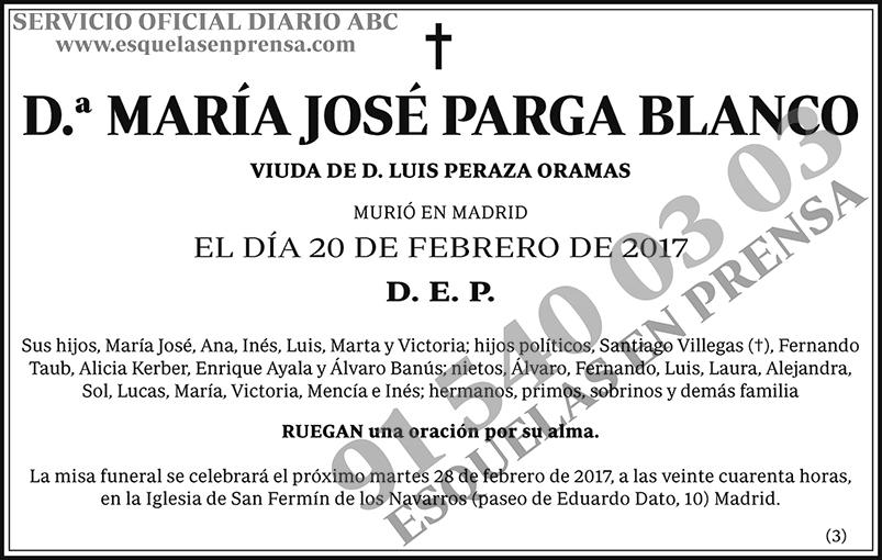 María José Parga Blanco